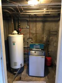 Remplacement d'une chaudière basse température par une chaudière condensation